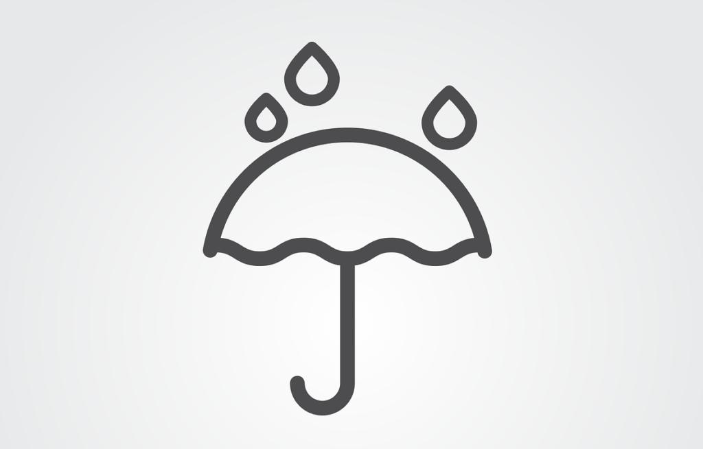 Terrarium versiegeln Regenschirm